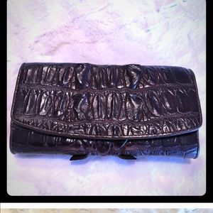 Real crocodile wallet leather NEW
